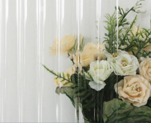 3-8mm Clear Moru Patterned    Glass