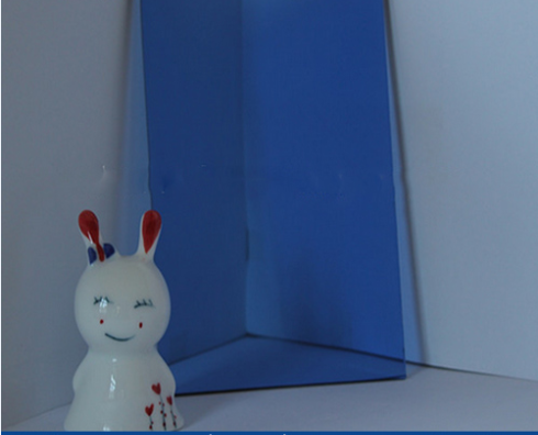 6mm Ford  Blue  Float Glass with CE&ISO