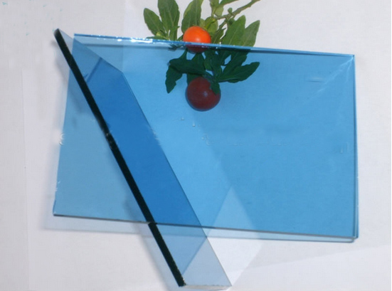 5mm Ford  Blue  Float Glass with CE&ISO
