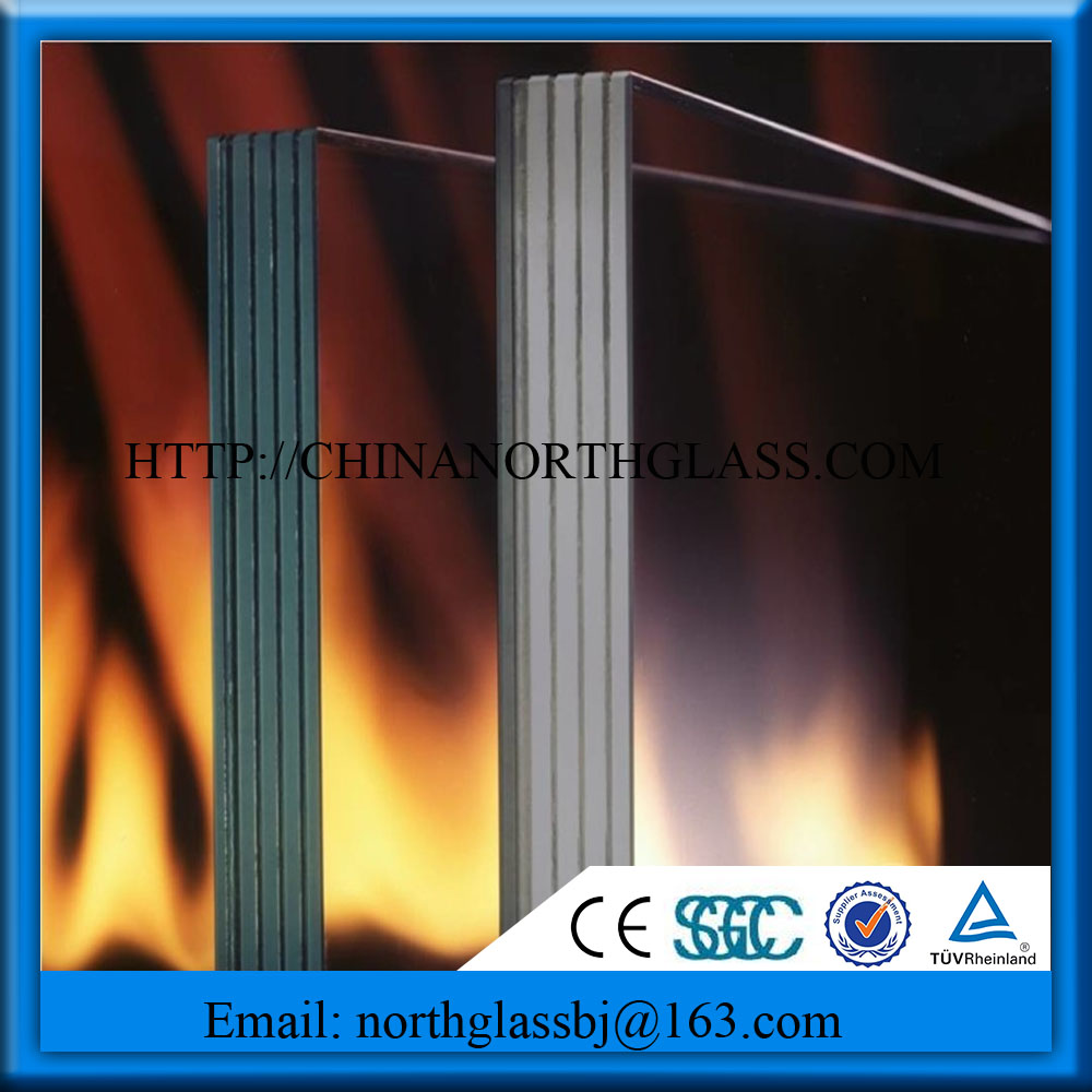 Laminated Cuttable Fire Proof Glass