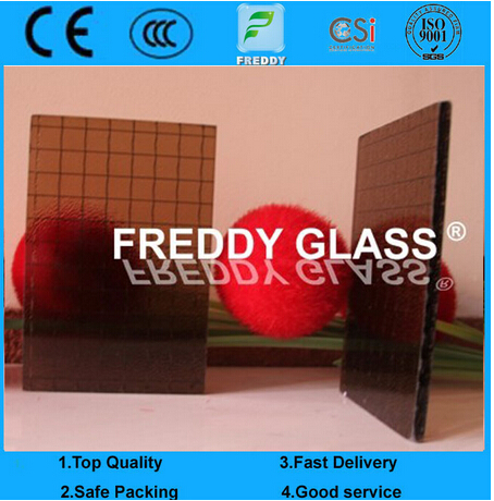 Colored Wired Glass/Color Wired Patterned Glass/Fire Retardant Glass/Fire Retardant Glass/Flame Resi