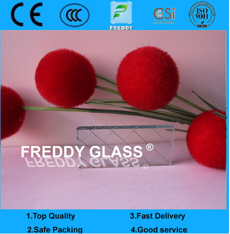 6.5mm Clear Parallel Wired Glass/Clear Parallel Wired Glass/Fire Retardant Glass/Parallel Fire Retar
