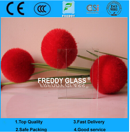 6.5mm Clear Wired Glass/ Rolled Glass/ Patterned Glass / Fireproof Glass