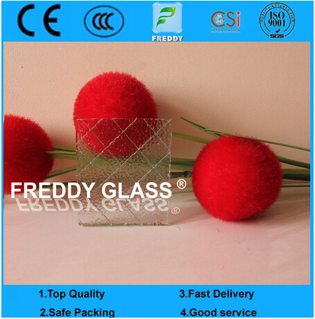 6.5mm Clear Wired Glass/ Rolled Glass/ Patterned Glass /