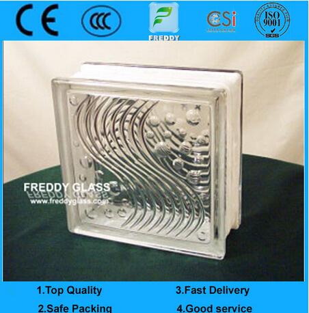 Glass Block/Glass Brick/Corner Brick/Shoulder/Clear Glass Block