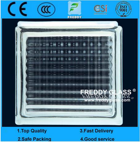Glass Brick/Glass Block/Corner Brick/Shoulder/Clear Glass Block