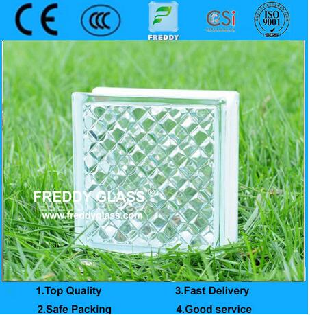 190X190X80mm Glass Brick/Building Glass Brick/ Glass Block