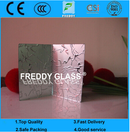 Tempered Silk Screen Printing Frosted Glass, Toughened Enamel Glass, Ceramic Coated Glass Mirrors, A