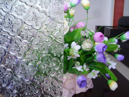 art decorative Patterned glass