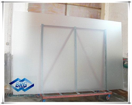 Big size Frosted Glass/opaque glass/acid etched glass
