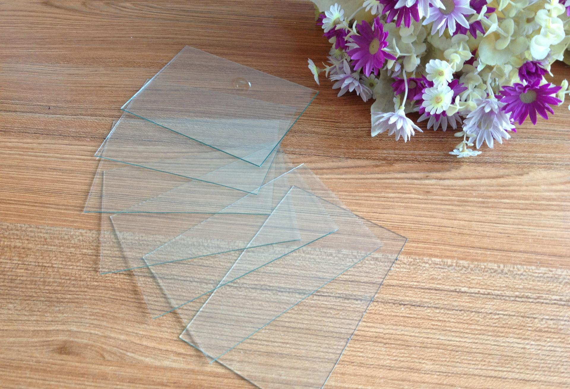 1.0mm, 1.1mm, 1.3mm,1.5mm sheet glass