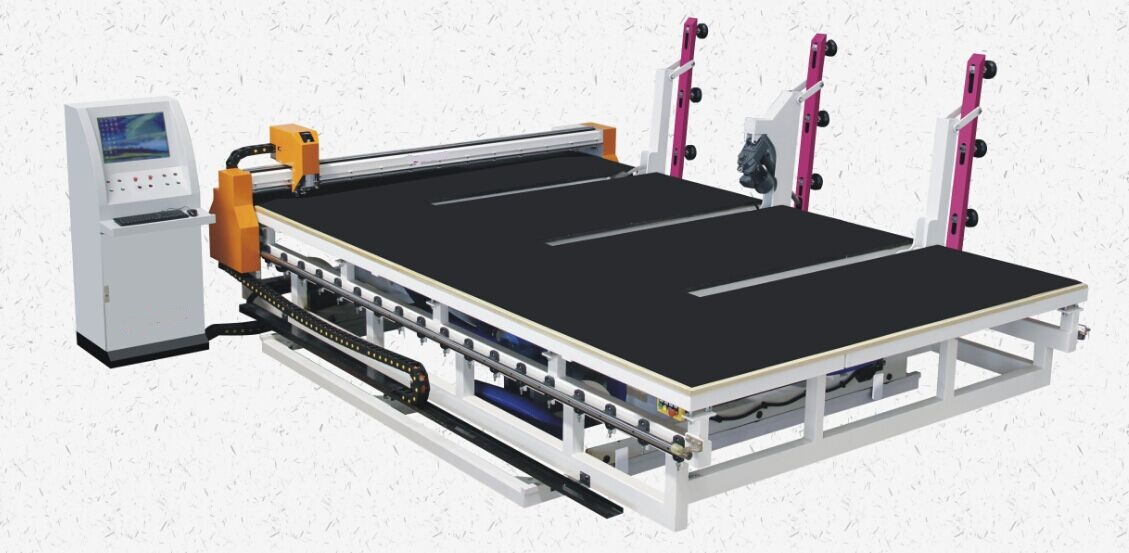 CNC Automatic Glass Cutting Table with Automatic Glass Loading