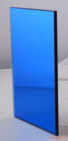 4mm-10mm Dark Blue Reflective Glass