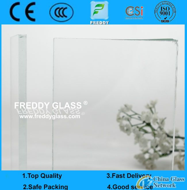 10mm ultra white float glass/ultra clear float glass/low iron float glass