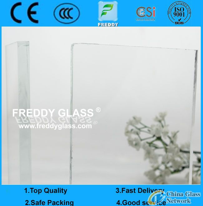 12mm ultra clear float glass/ultra white flat glass/low iron float glass