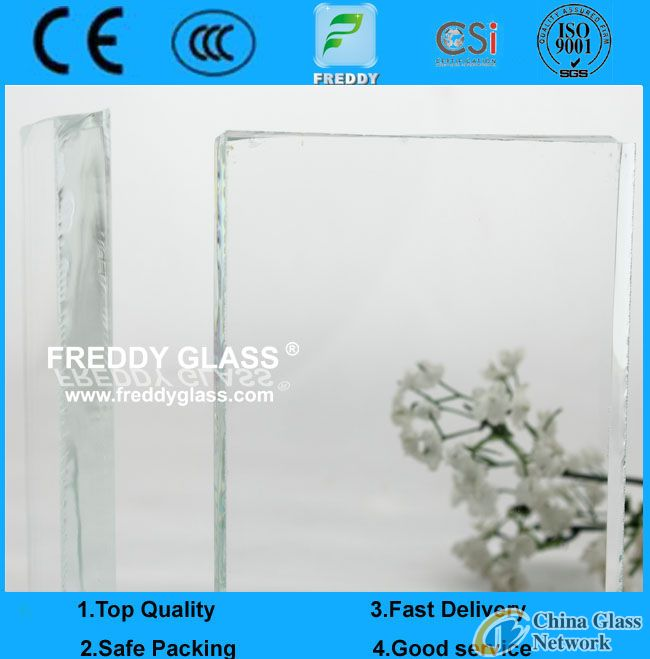 15mm low iron float glass/ultra clear float glass/ultra white float glass/glass block