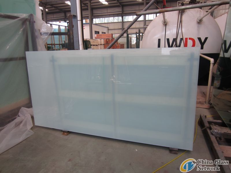 Laminated glass / sandwich glass / PVB laminated glass