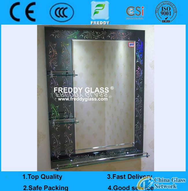 make up mirror with frame/make-up mirror/dressing mirror
