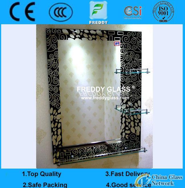 mirror with frame/washroom mirror with frame/washroom mirror