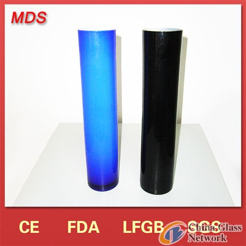 Colored Tall Wholesale Cylinder Glass Vase