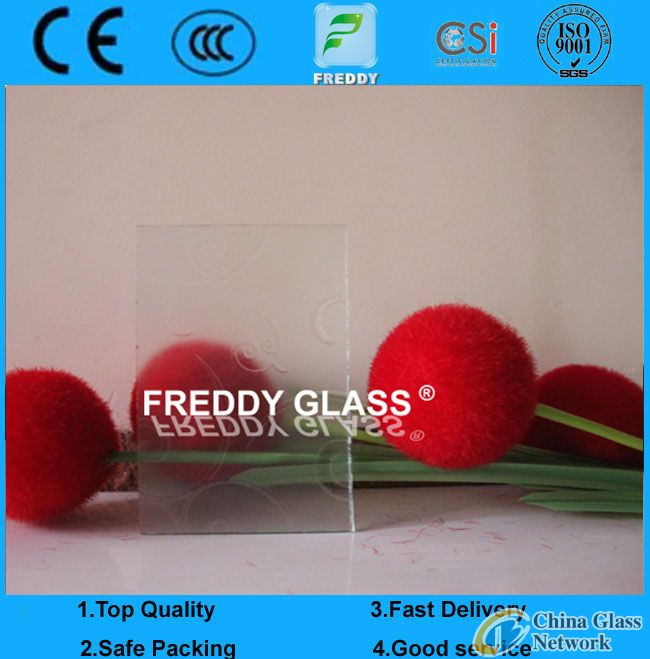 Refrigerator Glass-- Tempered & Silk Screen Printing Glass