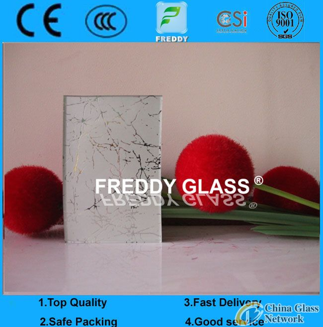 Tempered Silk Screen Printing Glass with Different Color
