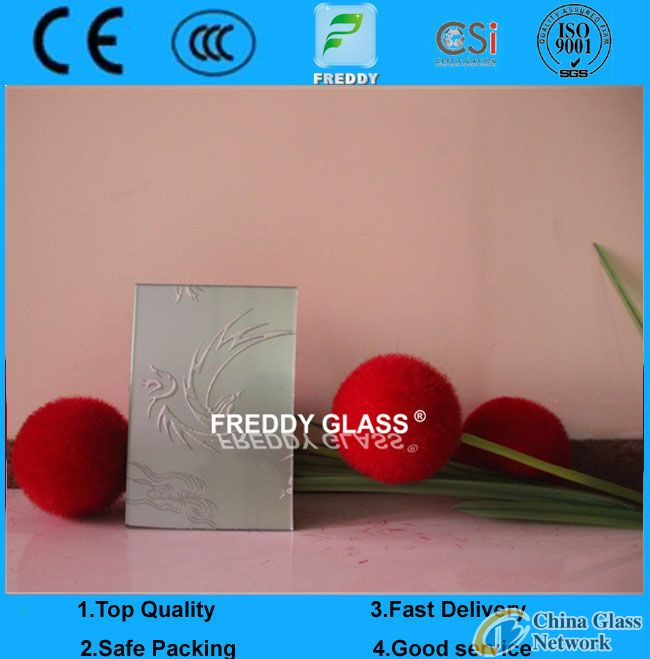 Lt China Factory as CE Certificated 3-19mm Silk Screen Printing Glass