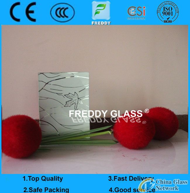 3mm, 4mm Silk-Printed Glass for Electronic Screen Glass