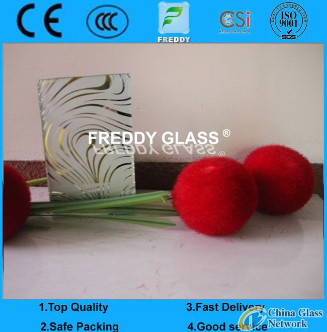 Tempered Silk Screen Printing frosted glass