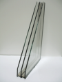 clear double tempered hollow glass