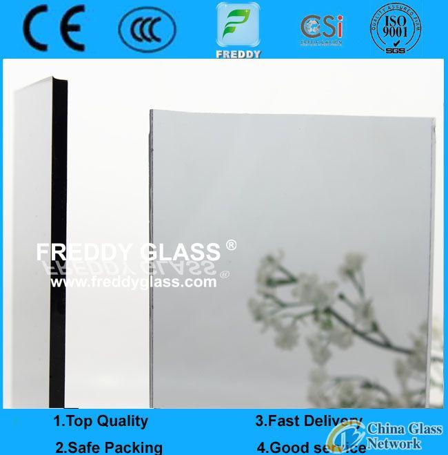 dark grey/gray float reflective glass mirror manufacturer/euro grey/euro gray/light gray/light grey/