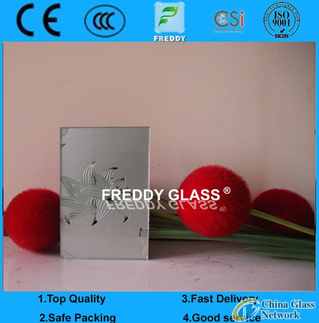 4mm 5mm 6mm 8mm Silk Screen Printing Glass for Cabinet Doors
