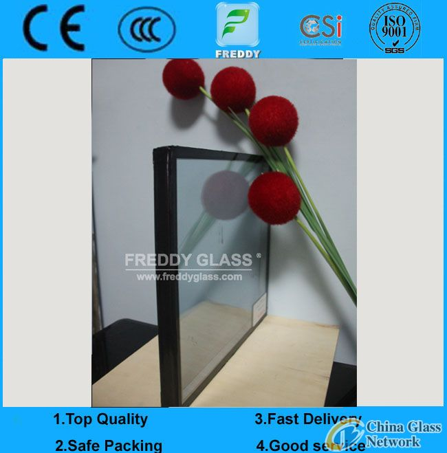 6+9A+6mm Sound Insulating Glass/Insulated Glass/Hollow Glass/Double Glazing Glass