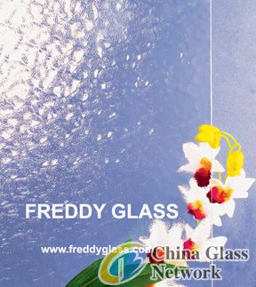 3-8mm Clear Patterned Glass/Patterned Glass