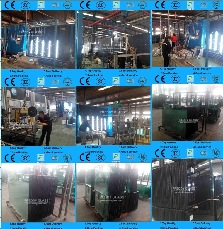3-19mm Insulated Hollow Glass/ Buiding Hollow Glass with CCC/CE/ISO