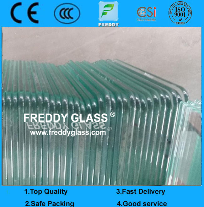 8mm High Quality Tempered Glass/ Shower Door Glass/ Toughned Glass