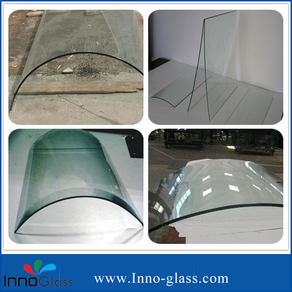 Bent/Curved Tempered/Toughened Glass for Kitchen Ventilator/Home Appliance