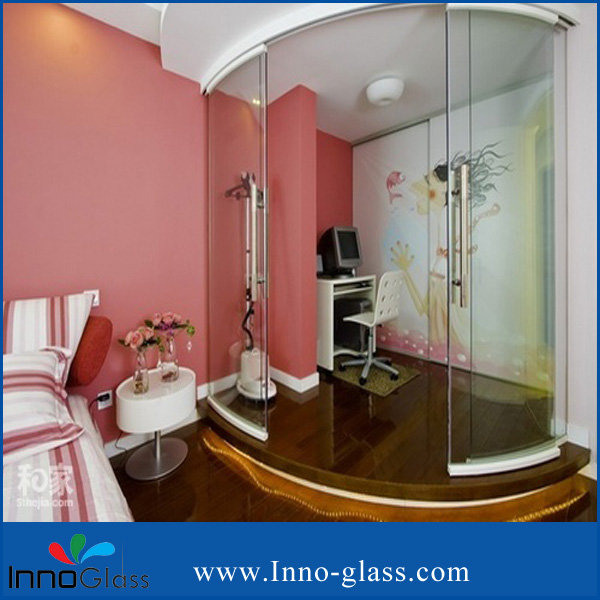 3-19mm Bent Toughened Glass for Shower room