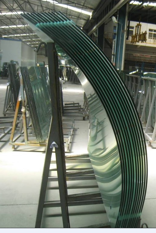10mm Curved tempered glass