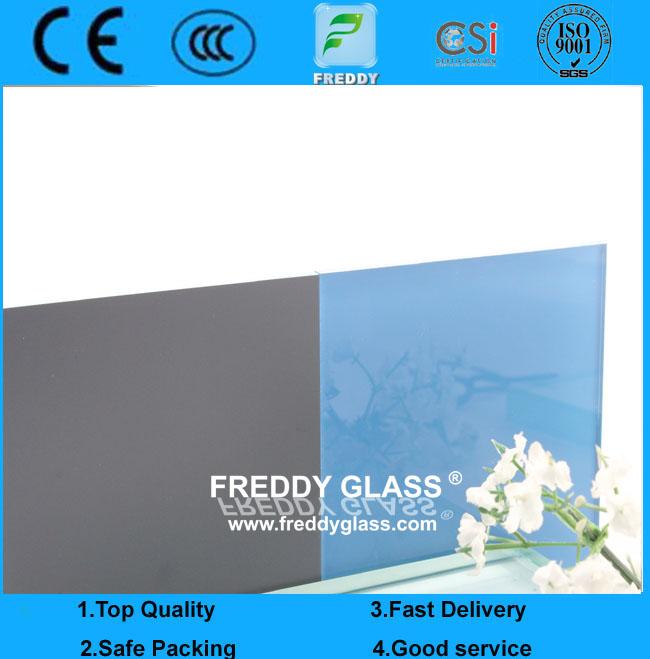 3-10mm Blue Paint Glass
