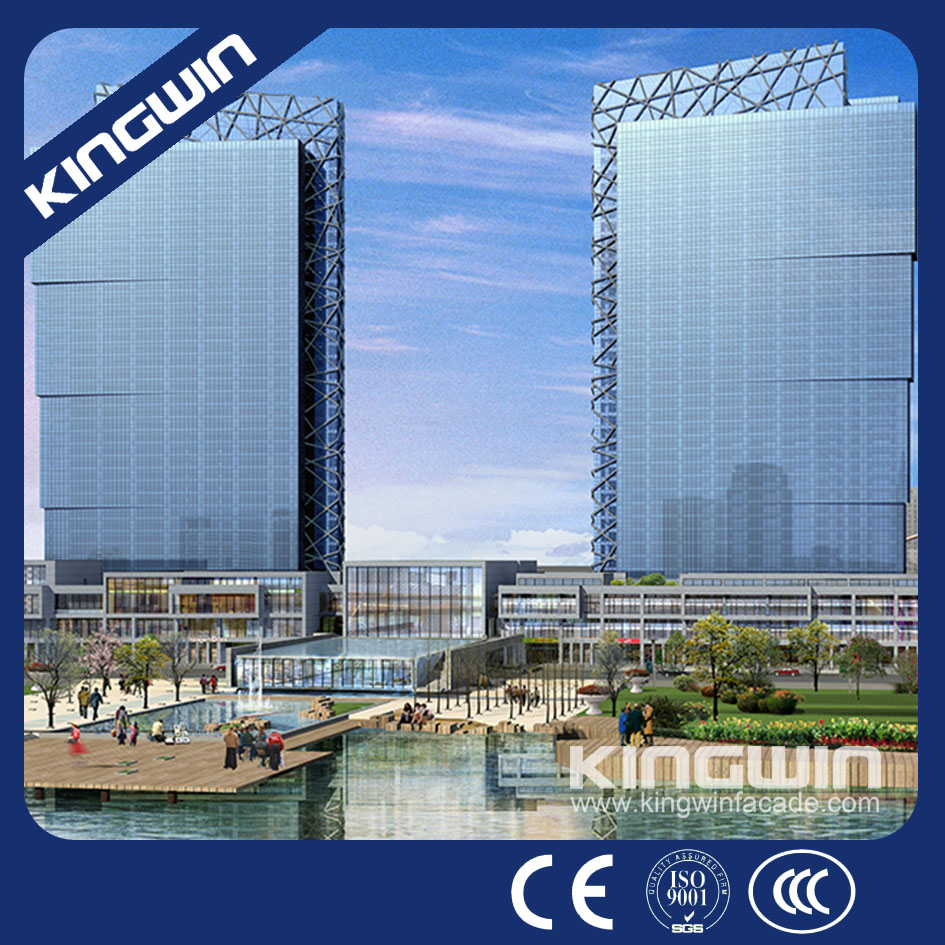 Innovative facade design and engineerings Stick Glass Curtain Wall ...