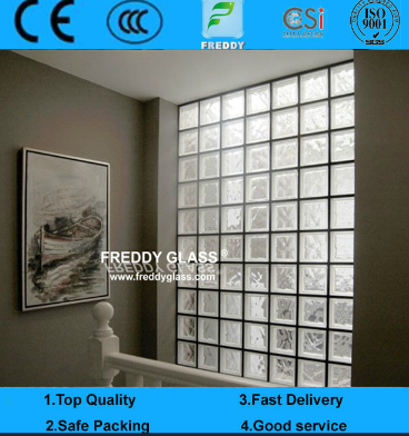 190*190*80mm Clear Glass Block/Glass Brick/Colored Glass Block