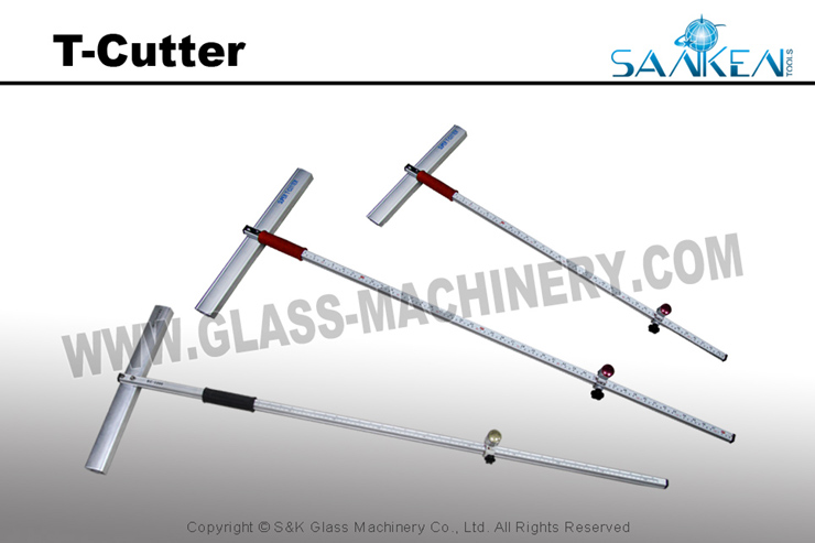 SANKEN Super Quality Glass T Cutter Glass Tools