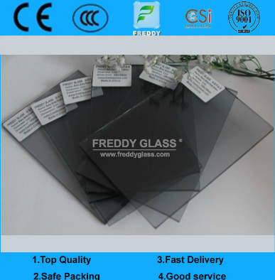3mm-12mm Euro Grey Tinted Glass for Buildinlg/Window in Good Quality