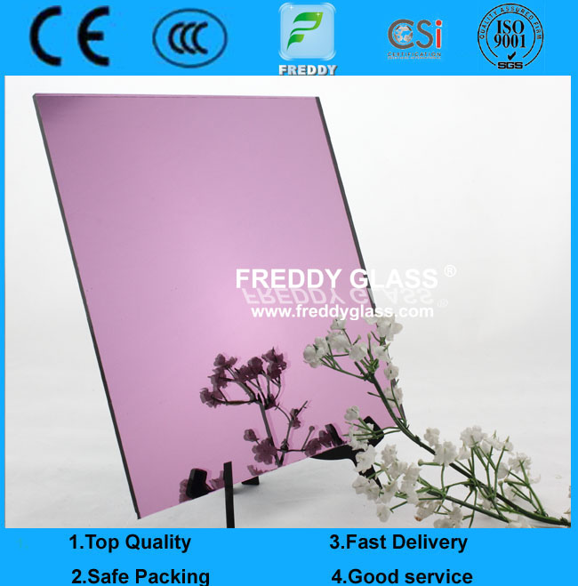 2mm Lilac Offline Reflective Mirror with high quality