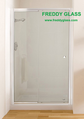 10mm Frosted Bathroom Door Glass