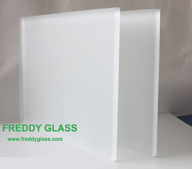 8mm Ultra Clear Frosted Glass with non-finger print