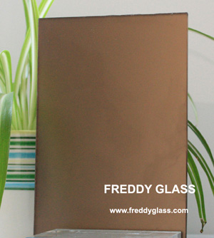 3mm Bronze Frosted Mirror