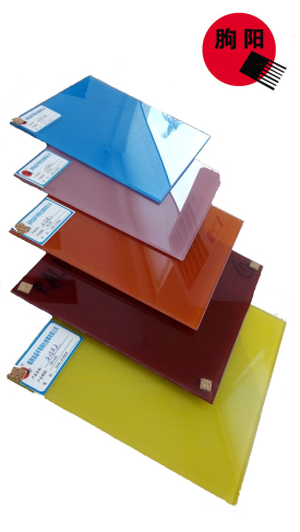 colored glazing glass/tempered glass/structural glass