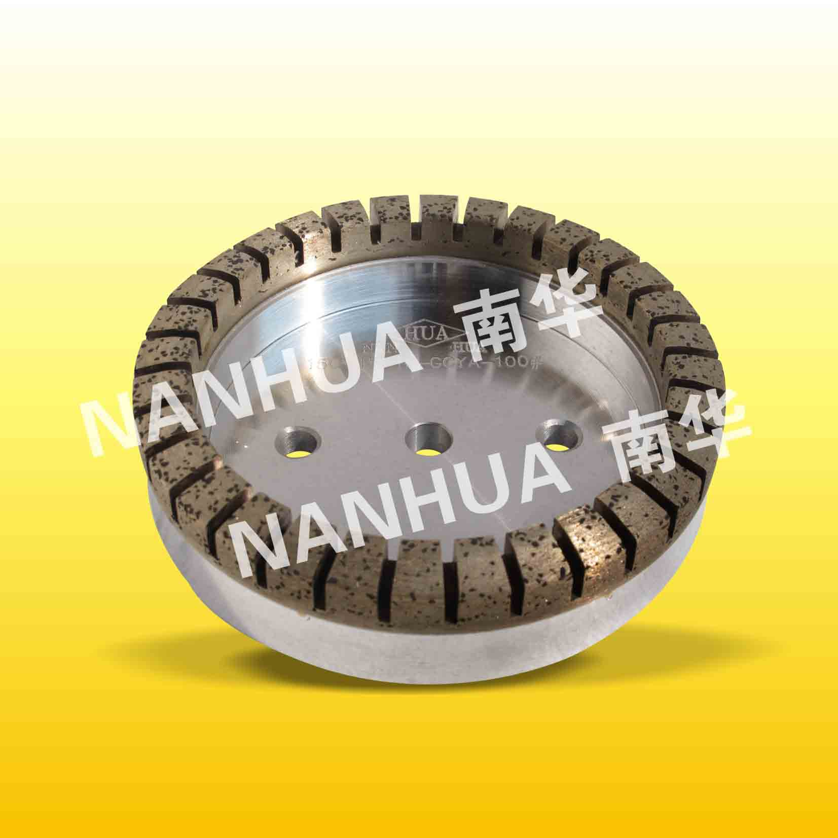 glass diamond wheel for glass processing